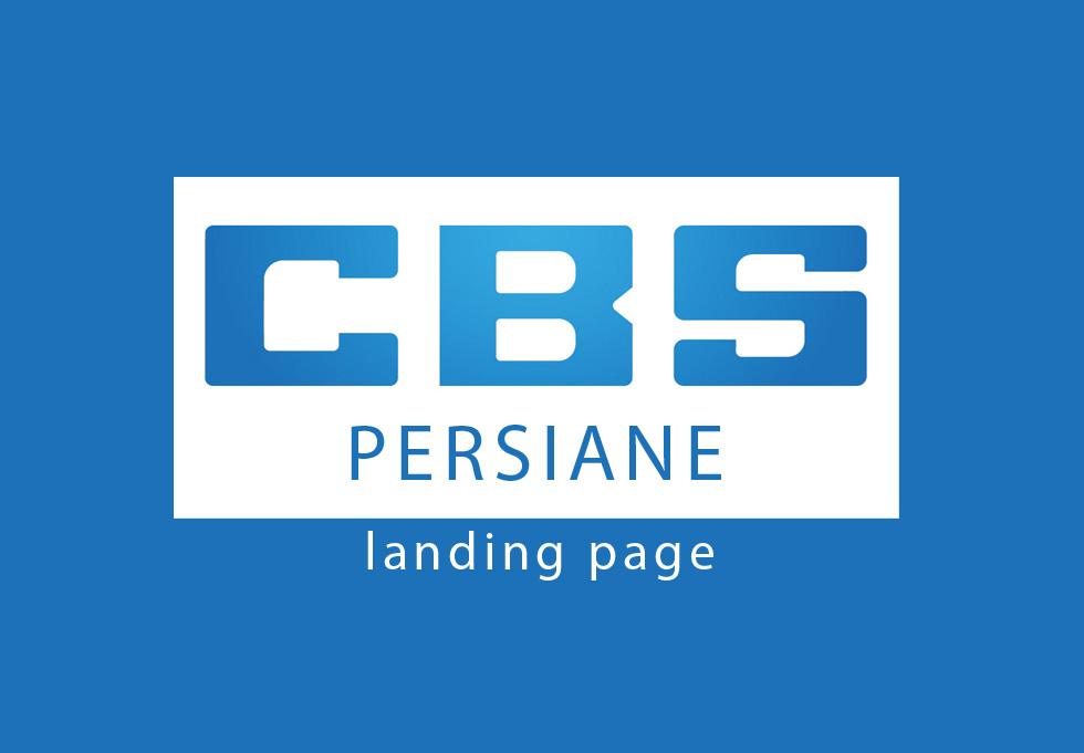 CBS Persiane landing page