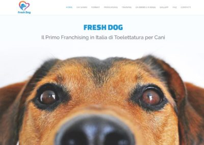 Fresh Dog toelettatura cani franchising