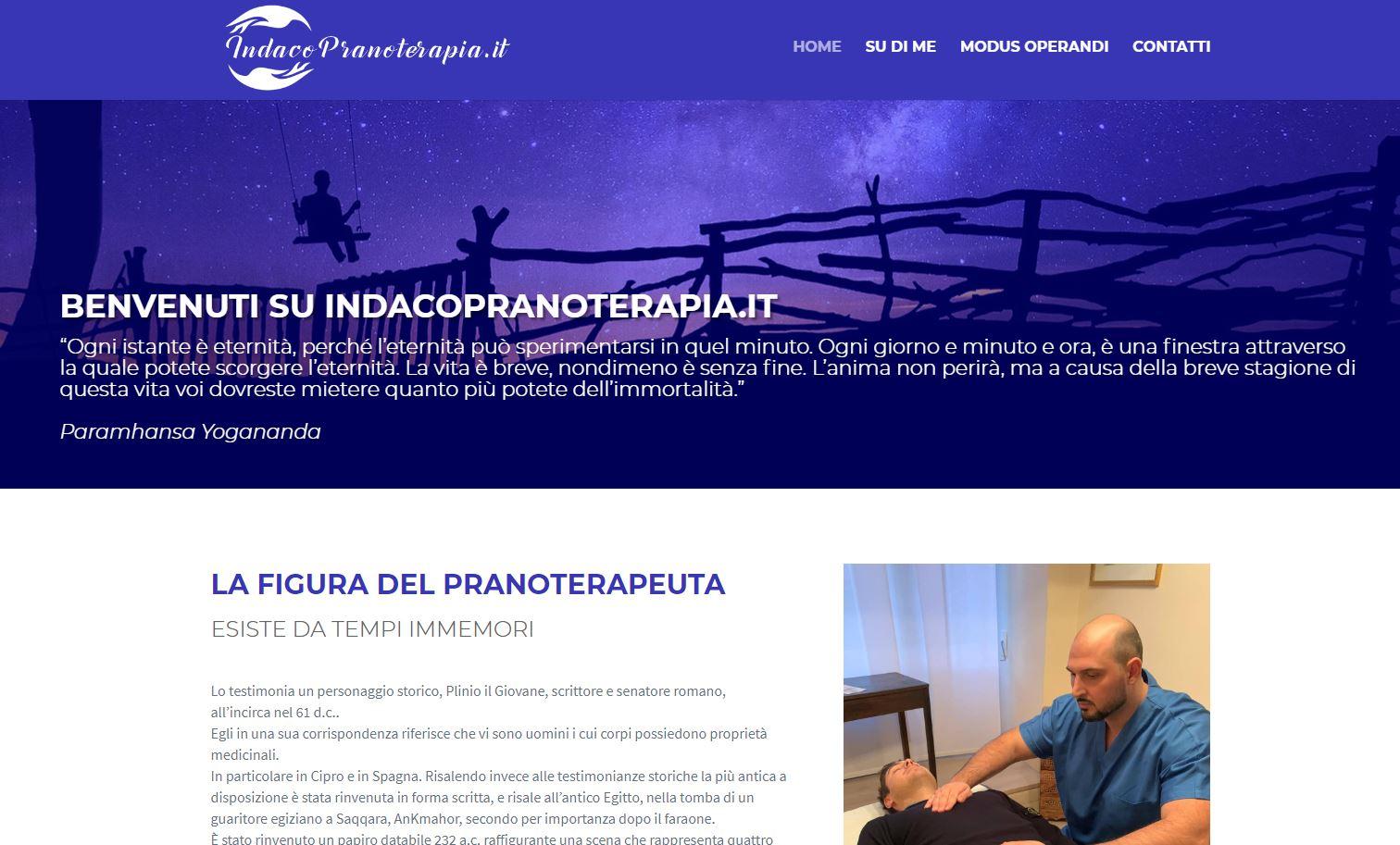 Indaco Pranoterapia - Fabio Spina